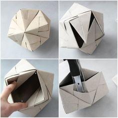 ludorn sonobe vase collage