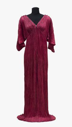 Mariano Fortuny y Madrazo, lady's dress Delphos, Venice, 1911–13