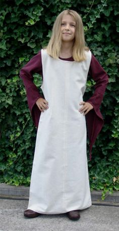 Childs sideless surcoat