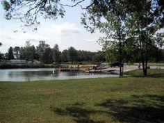 West Houghton Lake Campground at Houghton Lake, Michigan