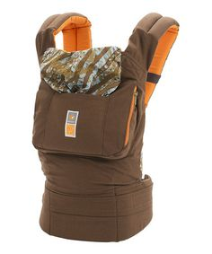 Only $85 !!!!!       Loving this Brown Umbra Designer Collection Baby Carrier on #zulily! #zulilyfinds