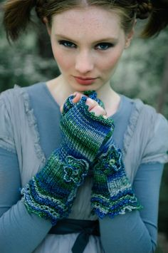 Louisa Harding  *love those gloves*