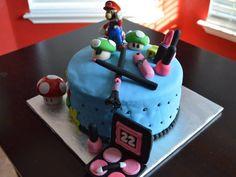 Makeup and Mario!