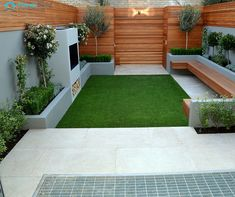 Backyard: Outdoor Eterior Designs Architecture Beautiful Landscape Design Small Yard Landscaping Modern Gallery Garden Ideas For Yards And 20 Great Pictures 19 Inspiring Images Front Townhouse. Back Garden Design, Backyard Garden Design, Patio Design, Hardscape Design, Small Courtyard Gardens, Small Backyard Gardens, Small Gardens, Outdoor Gardens, Small Yard Landscaping