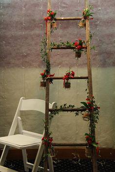 Blooms of Barker Wedding Order, Wedding Hire, Wedding Ideas, Wooden Ladder, Ladder Decor, Unique Flowers, Funeral, Special Day, Wedding Flowers