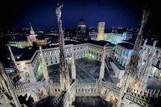 Dal Duomo  vista su  Palazzo Reale e panorama