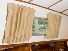DIY Boat Cabin Curtains - excellent tutorial from Sailrite on how to make curtains for a boat.