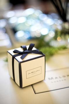 Treat your guests to fun wedding favors from Oriental Trading! Choose bubbles, candy boxes and even personalize wedding keepsakes as attendant gifts. Perfume Packaging, Candle Packaging, Jewelry Packaging, London Christmas, Christmas Gifts, Christmas Ornaments, Christmas Time, Christmas Ideas, Jo Malone Gifts