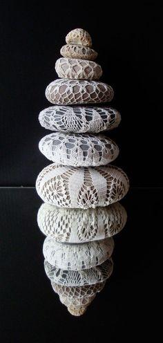 Crochet Stones by Knitalatte11.Flickr.com