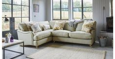 Gower Racing Plain Right Hand Facing 3 Seater Corner Sofa Gower Racing Plain | DFS