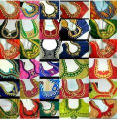 98 Latest Blouse Back Neck Designs Blouse Back Neck, Blouse Blouse Back Neck Designs, Patch Work Blouse Designs, Simple Blouse Designs, Neck Designs For Suits, Stylish Blouse Design, Designs For Dresses, Saree Blouse Designs, Sari Blouse, Abaya Designs