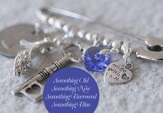 Something Old, New, Borrowed, Blue....Wedding Pin