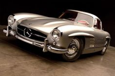 1955 Mercedes-Benz 300SL Gullwing.
