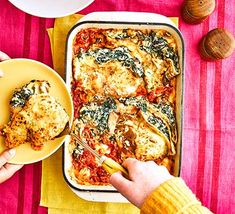 Make pancakes on Shrove Tuesday and serve our spinach and ricotta pancake bake for dinner. For dessert, choose one of our sweet pancake recipes Baked Pancakes, Ricotta Pancakes, Pancakes Easy, Spinach Pasta Bake, Spinach Ricotta, Sweet Pancake Recipe, Pancake Recipes, Savoury Recipes, Vegetarian Bake
