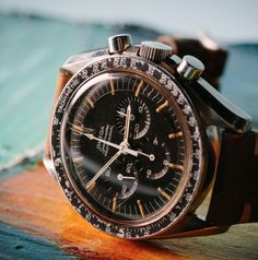 Vintage OMEGA Speedmaster Pro Calibre 321 Moonwatch In Stainless Steel