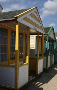 Southwold beach hut