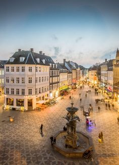 Strøget, Copenhagen, Denmark. For the best of culture, food, art and travel, check out bit.ly/theculturetripdenmark.