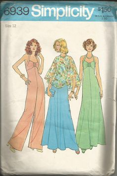 Vintage Simplicity Prom Dress Pattern 6939 Size by TheIDconnection, $38.00