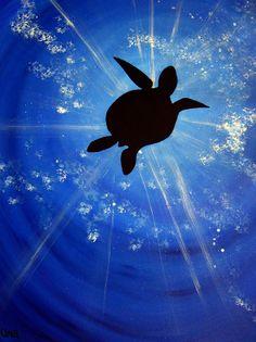 Deep Blue #turtle