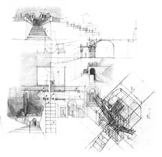 Drawings by Daniel Mowery