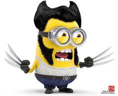 Wolverine Minion by Darren Wallace
