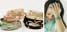 Im purchasing 2...  Designer Inspired Infinity Wrap Bracelets! at VeryJane.com