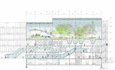 Condensador de paisajes en el antiguo parque móvil de Madrid   Arquitectura