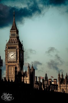 England, UK — Big Ben, London, England ...