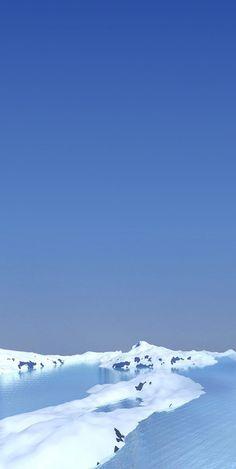 Blue sky, Mountain, wallpaper, galaxy, tranquil, beauty, nature, Samsung