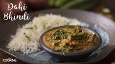 Home Cooking Dahi BhindiIngredients Lady's Finger - 200 GmsOil - 1 TbspOnion - 1 Nos. Finely ChoppedKashmiri Chili Powder - 2 TspGinger Garlic - 1 Tsp PoundCoriander Powder - 1 TspGaram Masala - Tsp Cumin P Indian Veg Recipes, Paneer Recipes, Indian Snacks, Spicy Recipes, Curry Recipes, Vegetarian Recipes, Cooking Recipes, Veg Curry, Food Videos
