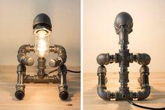PIPESTORY lampe tube / lampe tube de fer / par PipeStoryLamp