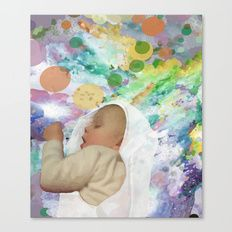 Great Achievements all begin with a Dream Canvas Print