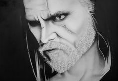 My drawing - Witcher