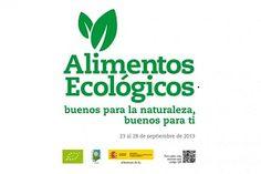 Alimentos ecológicos, buenos para la naturaleza, buenos para ti