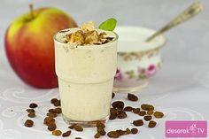 jogurt pieczone jabłko