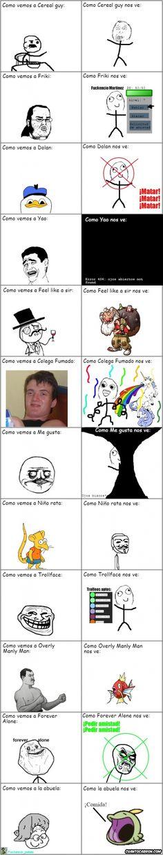Los puntos de vista de los memes        Gracias a http://www.cuantocabron.com/   Si quieres leer la noticia completa visita: http://www.estoy-aburrido.com/los-puntos-de-vista-de-los-memes/