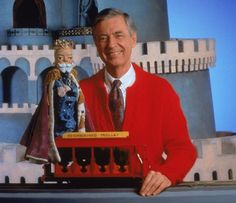 *Mister Rogers! Loved him! Now My niece watches Daniel the tiger a spin off cartoon! Brings me back..**