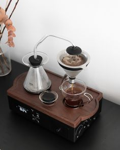 Rise with The Barisieur alarm clock Fresh Coffee, Perfect Cup, V60 Coffee, Alarm Clock, Coffee Maker, Interior Decorating, Joy, Tech, Magazine