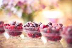 #Bowls of #Fruit by Sasha L'Estrange-Bell  ♥ ★ ❥★ ❥ #bokeh #blackberry #raspberry #fresh #pretty #colours #stills #stilllife #photography #style #inspiration