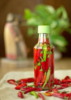 Chile Pequin Pepper Sauce Recipe Yield: Pick out the bottle, then buy enough peppers to fill it Prep and Cook Time: about 15 minutes  Ingre...