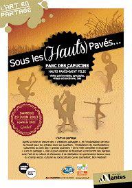 Sous les (Hauts) Pavés, rendez-vous festif gratuit. Le samedi 29 juin 2013 à Nantes.