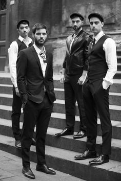 omfg they look so sexy Three Piece Suit, Lingerie Dress, Sharp Dressed Man, Black Cardigan, Bearded Men, Dna, Men Dress, Hot Guys, Pure Products