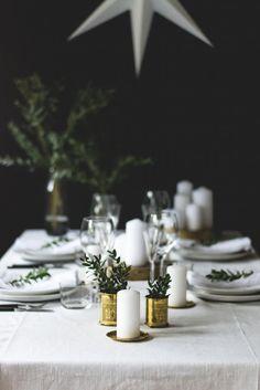 Christmas table setting // Juldukning // Joulukattaus