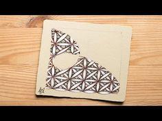 How to Draw the Zentangle® Tangle 'Fife' - YouTube