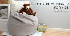 Create a cozy corner with the Venice Lounger for kids!