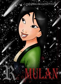 Mulan disney by rebenke.deviantart.com on @deviantART