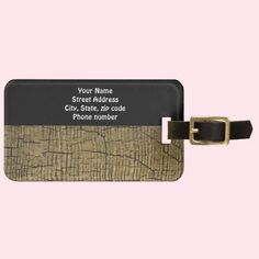 Crack Tags For Luggage - Customized