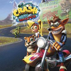 Crash Bandicoot 3: Warped PS1 Cover -Remake-