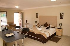 Alabella Lodge - Alabella Lodge has 47 upmarket furnished and partially equipped self-catering rooms in the Rynfield area, which is situated 15 minutes from O R Tambo Int Airport. The lodge has a country setting on the ... #weekendgetaways #johannesburg #southafrica