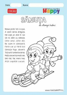 Saniuta -iarna Coloring Pages For Boys, Worksheets For Kids, Toddler Activities, Montessori, Doll Clothes, Kindergarten, Crafts For Kids, Teacher, Snoopy